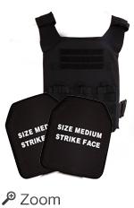 Bulletproof Armor Plates, Free Plate Carrier, Survival Gear