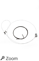 Survival Snare + Annealed Steel Support Wire, John Kiser