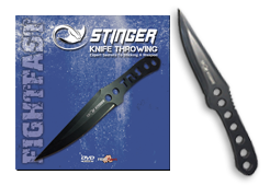 X8 Stinger Knife Throwing Pak, Weapons